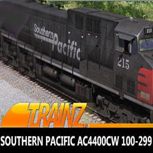 Trainz 2019 DLC Southern Pacific AC4400CW 100-299
