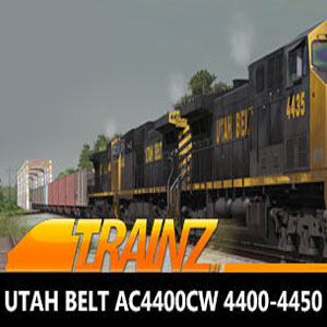 Trainz 2019 DLC Utah Belt AC4400CW 4400-4450