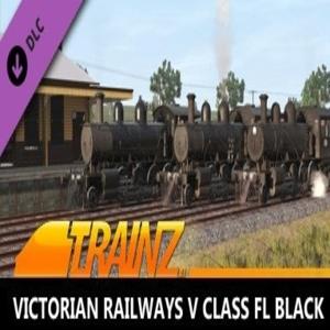 Trainz 2019 DLC Victorian Railways V class FL Black
