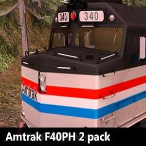 Trainz A New Era Amtrak F40PH 2 pack