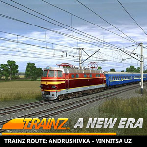 Trainz A New Era Andrushivka Vinnitsa UZ