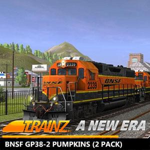 Trainz A New Era BNSF GP38-2 Pumpkins 2 Pack