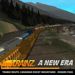 Trainz A New Era Canadian Rocky Mountains Rogers Pass