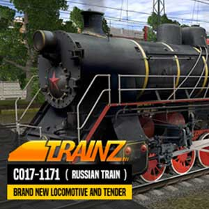 Trainz A New Era CO17-1171 Russian Loco and Tender