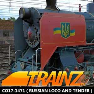 Trainz A New Era CO17-1471 Russian Loco and Tender
