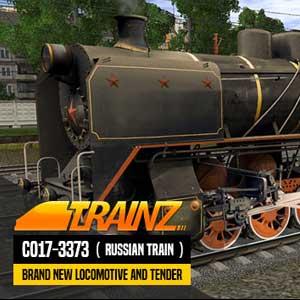 Trainz A New Era CO17-3373 Russian Loco and Tender