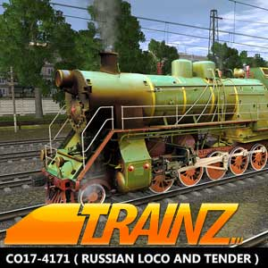 Trainz A New Era CO17-4171 Russian Loco and Tender