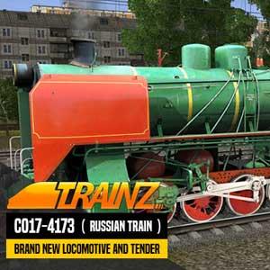 Trainz A New Era CO17-4173 Russian Loco and Tender