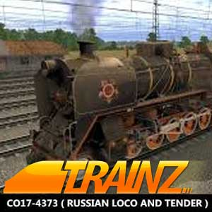 Trainz A New Era CO17-4373 Russian Loco and Tender