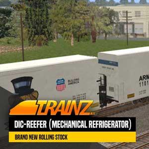 Trainz A New Era DIC-Reefer Mechanical Refrigerator