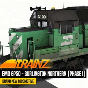 Trainz A New Era EMD GP50 Burlington Northern Phase 1