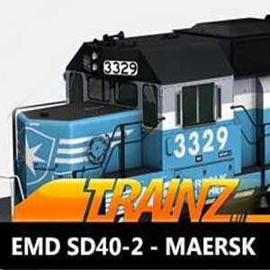 Trainz A New Era EMD SD40-2 Maersk