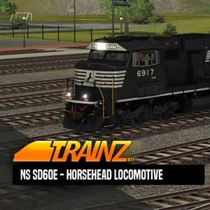 Trainz A New Era NS SD60E Horsehead