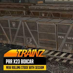 Trainz A New Era PRR X23 Boxcar