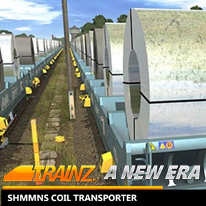 Trainz A New Era Shmmns Coil Transporter