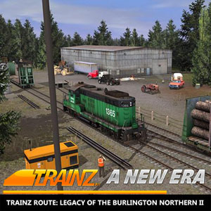 Trainz A New Era Trainz Route Legacy of the Burlington Northern 2