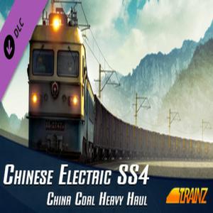 Trainz Simulator DLC SS4 China Coal Heavy Haul Pack