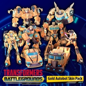 Transformers Battlegrounds Gold Autobot Skin Pack