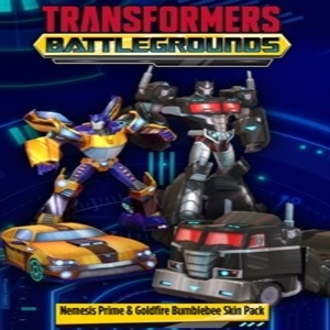 TRANSFORMERS BATTLEGROUNDS Nemesis Prime & Goldfire Bumblebee Skin Pack