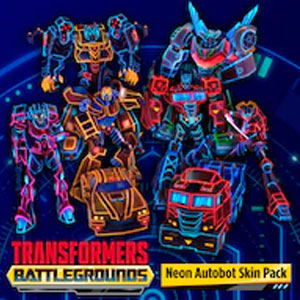 TRANSFORMERS BATTLEGROUNDS Neon Autobot Skin Pack