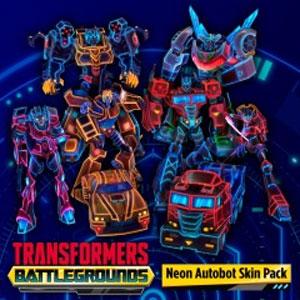 Transformers Battlegrounds Neon Autobot Skin Pack