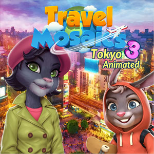 Travel Mosaics 3 Tokyo Animated