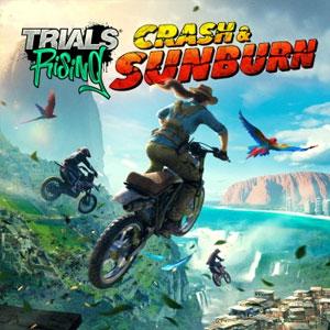 Trials Rising Crash and Sunburn