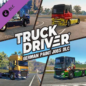 Buy Truck Driver German Paint Jobs DLC PS4 Compare Prices
