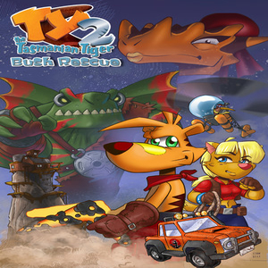 TY the Tasmanian Tiger 2 Bush Rescue HD