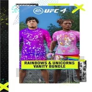 UFC 4 Rainbows and Unicorns Vanity Bundle