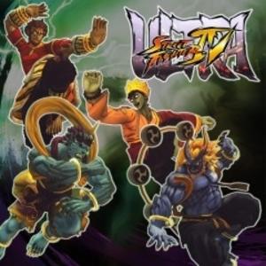 Ultra Street Fighter 4 Arcade Challengers Horror Pack
