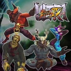 Ultra Street Fighter 4 Challengers Horror Pack 2