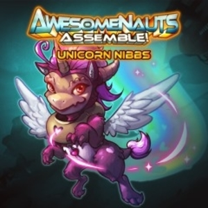 Unicorn Nibbs Awesomenauts Assemble Skin