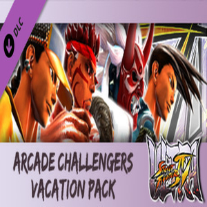 USF4 Arcade Challengers Vacation Pack