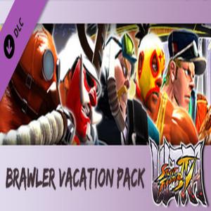 USF4 Brawler Vacation Pack