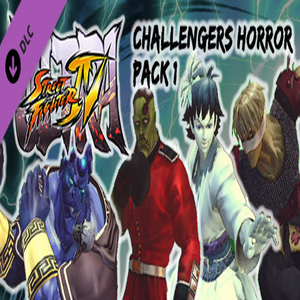 USF4 Challengers Horror Pack 1