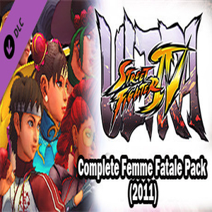 USF4 Complete Femme Fatale Pack 2011