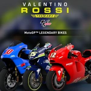 Valentino Rossi MotoGP Legendary Bikes