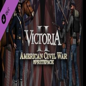 Victoria II A House Divided American Civil War Spritepack