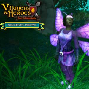 Villagers and Heroes Midsummers Eve Faerie Pack