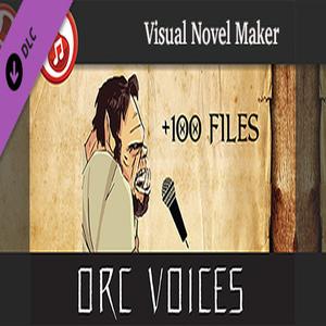 Visual Novel Maker Orc Voices