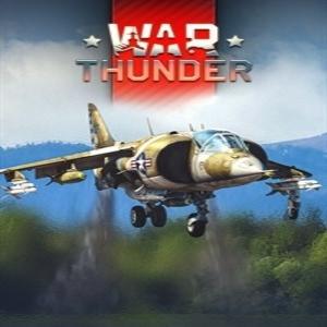 War Thunder AV-8A Harrier Pack