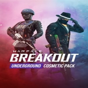 Warface Breakout Underground Cosmetic Pack