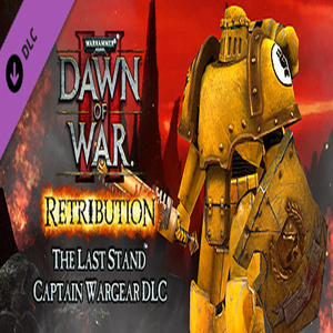 Warhammer 40 000 Dawn of War 2 Retribution Captain Wargear DLC
