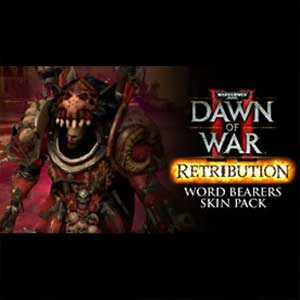 Warhammer 40K Dawn of War 2 Retribution Word Bearers Skin Pack
