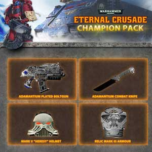 Warhammer 40K Eternal Crusade Champion Weapon Pack