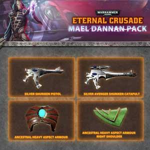 Warhammer 40K Eternal Crusade Mael Dannan Weapon Pack