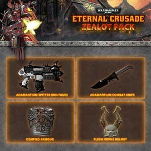 Warhammer 40K Eternal Crusade Zealot Weapon Pack