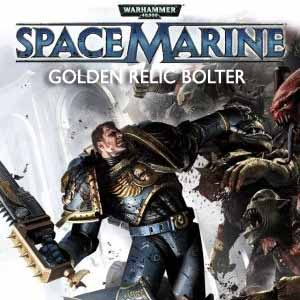 Warhammer 40k Space Marine Golden Relic Bolter