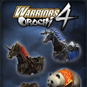 WARRIORS OROCHI 4 Legendary Mounts Pack